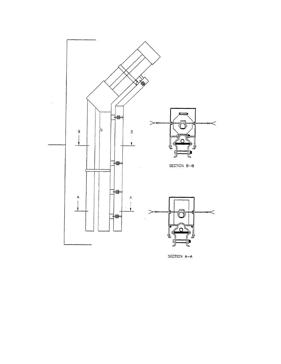 Figure C 40 Detail Taut Wire Fence Sensor Post Twfs