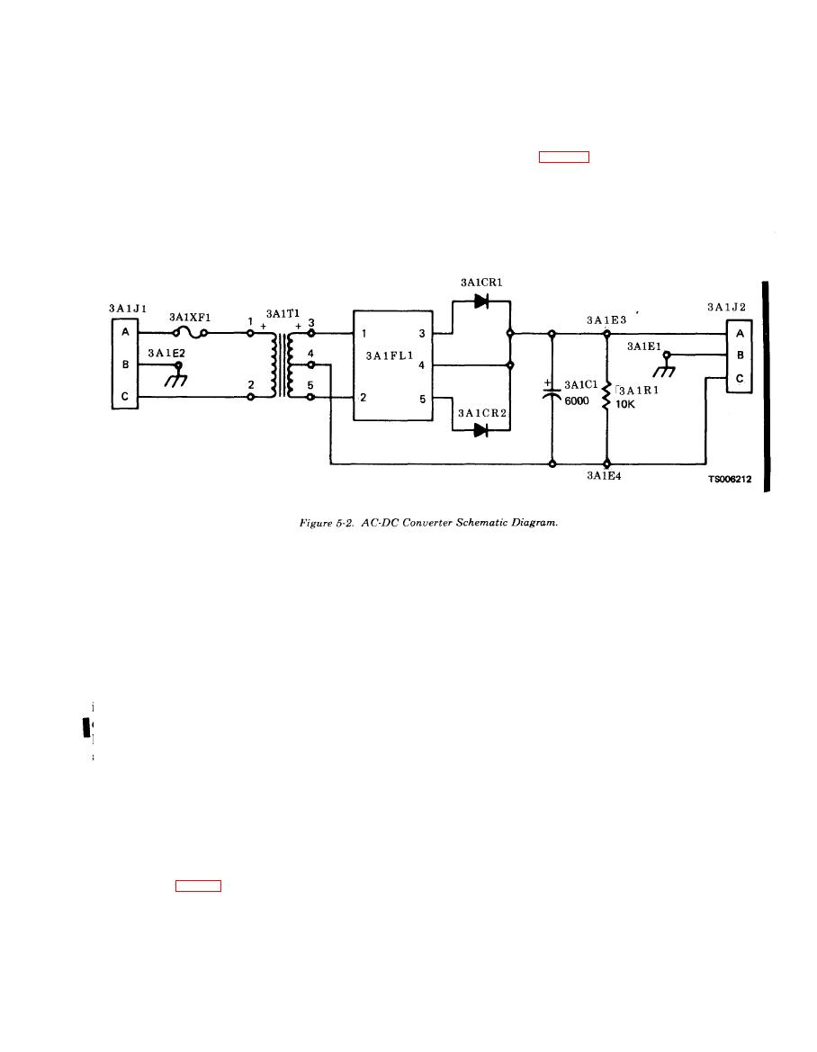 Figure 5-2. AC-DC Converter Schematic Diagram on
