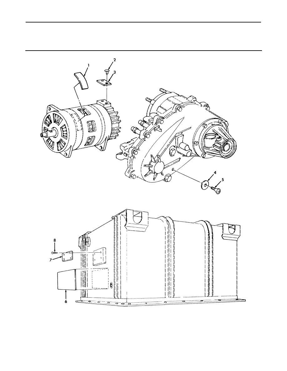 figure 243  data plates  generator  transfer case  and