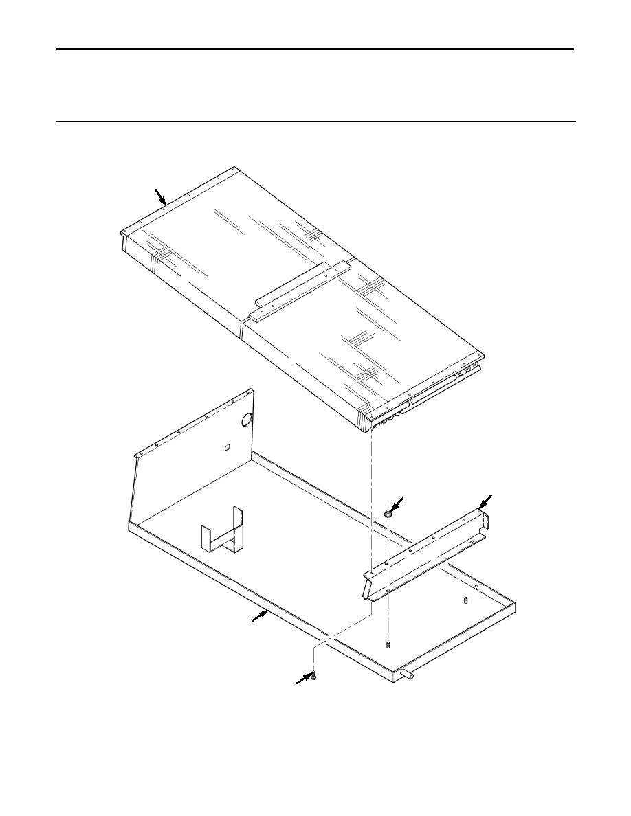figure 282  rear a  c condenser and tray assembly