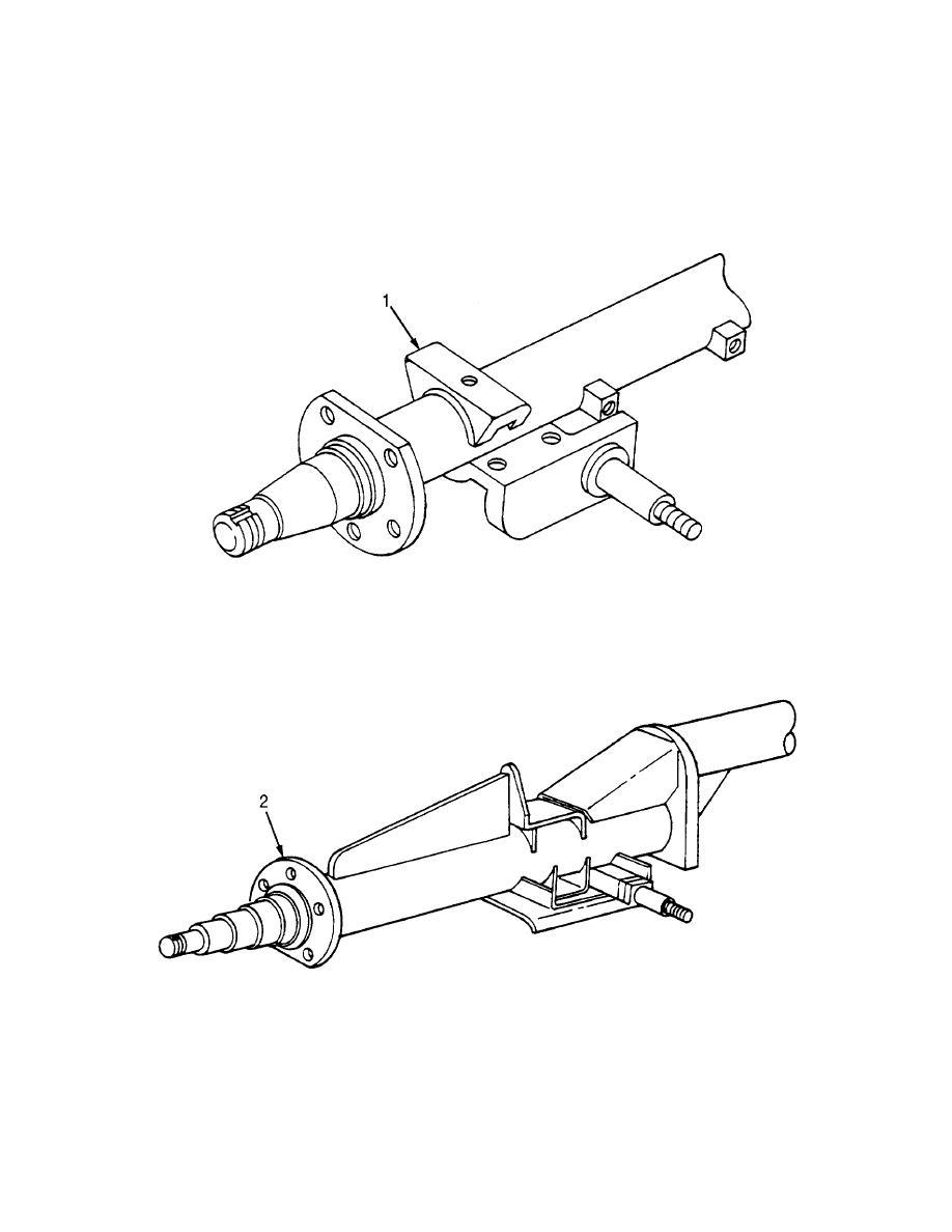 figure 5  rear axle assembly  sheet 1 of 2